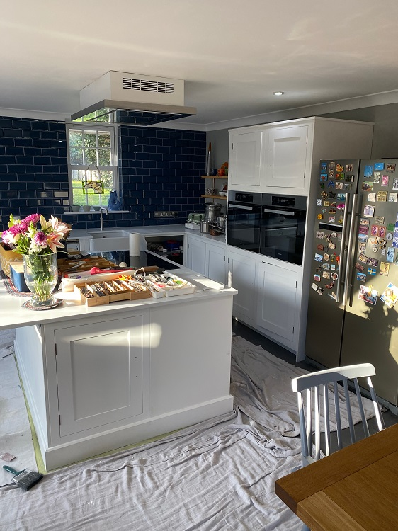 hand painted furniture and kitchens