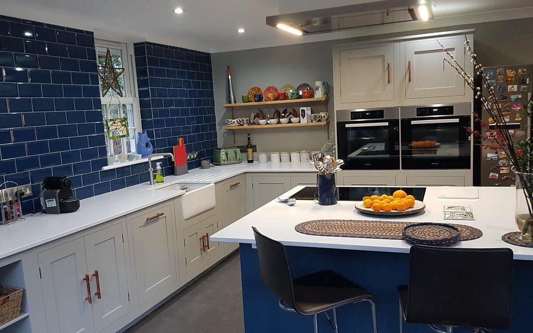 Hand Painted Kitchen for Harvey Jones